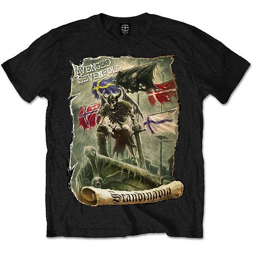Avenged Sevenfold - Scandinavia (tricou unisex)