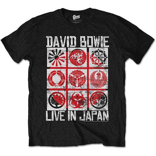 David Bowie - Live in Japan (tricou unisex)