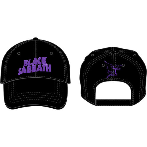 Black Sabbath - Demon & Logo (șapcă baseball)