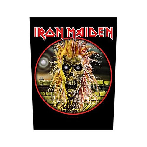 Iron Maiden (patch - back)