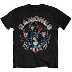Ramones - Vintage Wings Photo (tricou unisex)