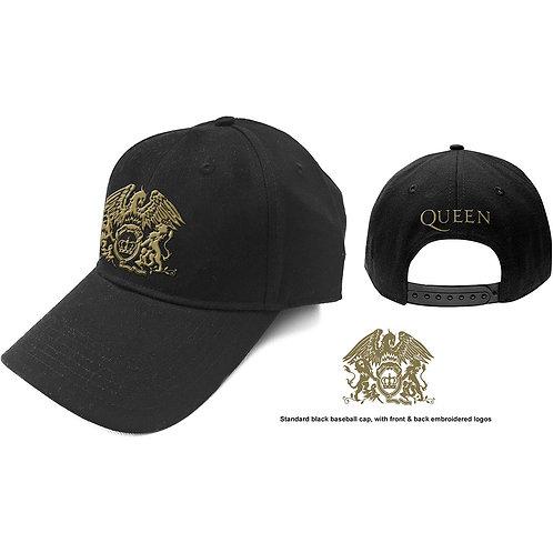 Queen - Gold Classic Crest (șapcă baseball)