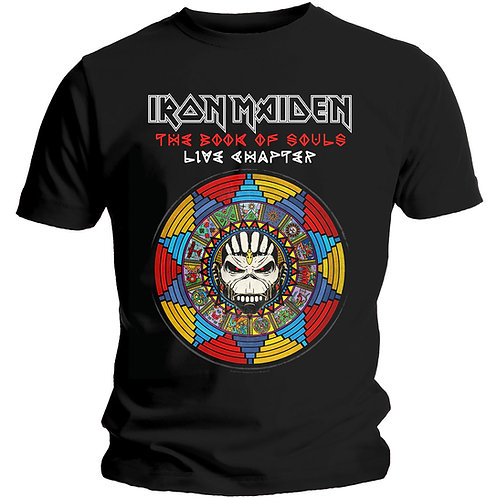 Iron Maiden - Book of Souls Live Chapter (tricou unisex)