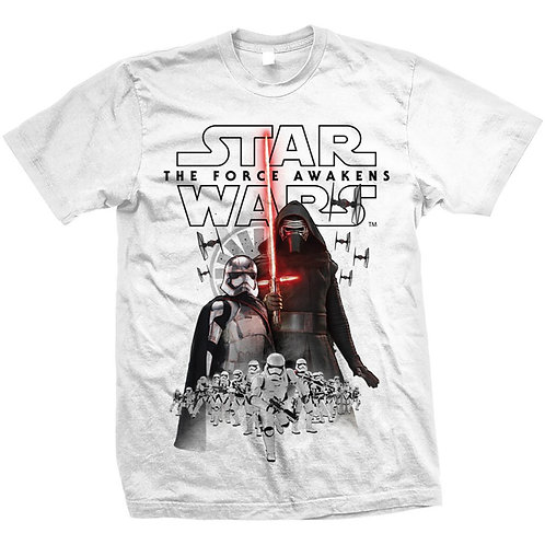 Star Wars - Episode VII New Villains (tricou unisex)