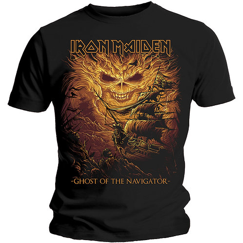 Iron Maiden - Ghost of the Navigator (tricou unisex)