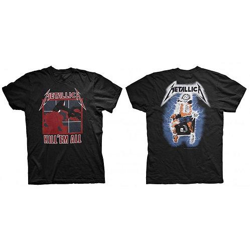 Metallica - Kill 'Em All - față/spate (tricou unisex)