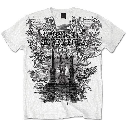 Avenged Sevenfold - Land of Cain (tricou unisex)