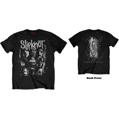Slipknot - WANYK White Splatter (tricou unisex)