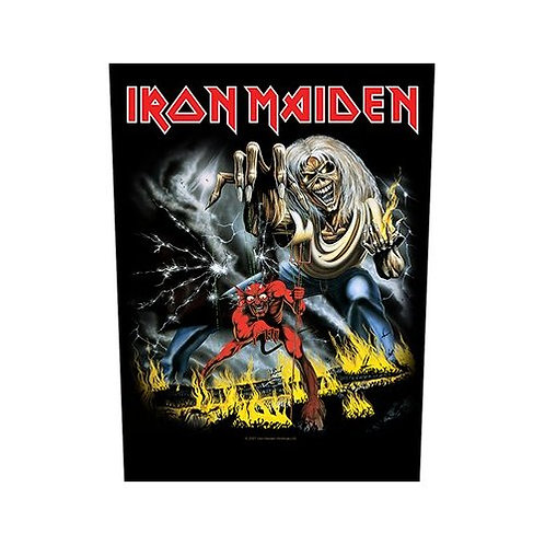Iron Maiden - The Number Of The Beast (patch - back)