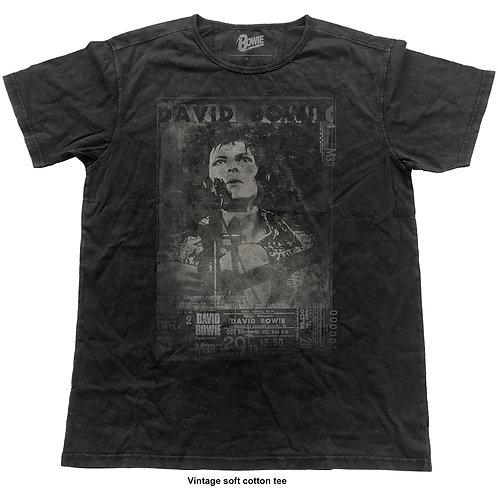David Bowie - Live Vintage (tricou unisex)