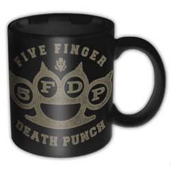 Five Finger Death Punch - Brass Knuckle (cană ceramică)