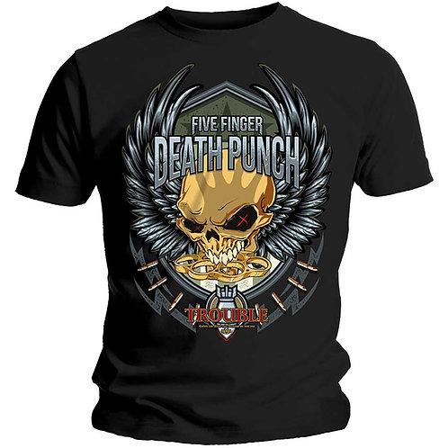 Five Finger Death Punch - Trouble (tricou unisex)