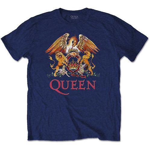 Queen - Classic Crest (tricou unisex)