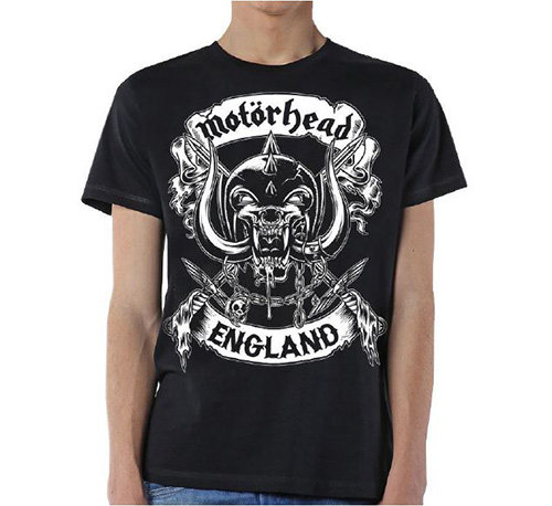 Motorhead- Crossed Swords England Crest (tricou unisex)