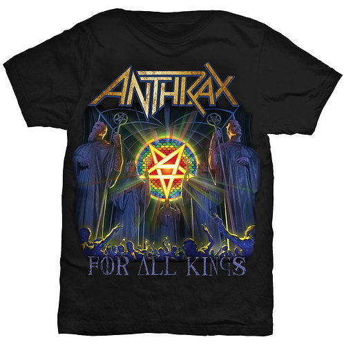 Anthrax - For All Kings Cover (tricou unisex)