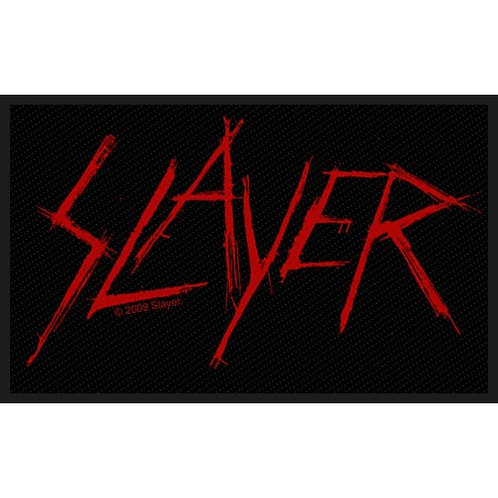 Slayer - Scratched Logo (patch)