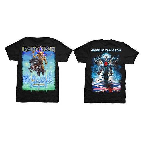 Iron Maiden - Tour Trooper - imprimeu față/spate (tricou unisex)