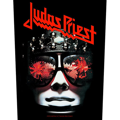Judas Priest - Hell Bent for Leather (patch - back)