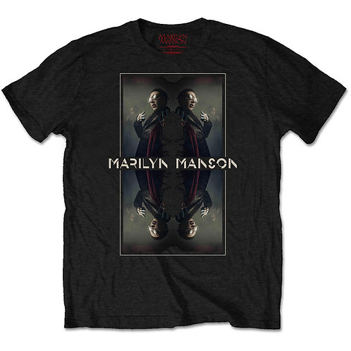 Marilyn Manson - Mirrored (tricou unisex)