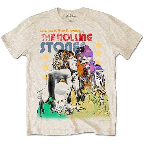 Rolling Stones - Mick & Keith Watercolour Stars (tricou unisex)