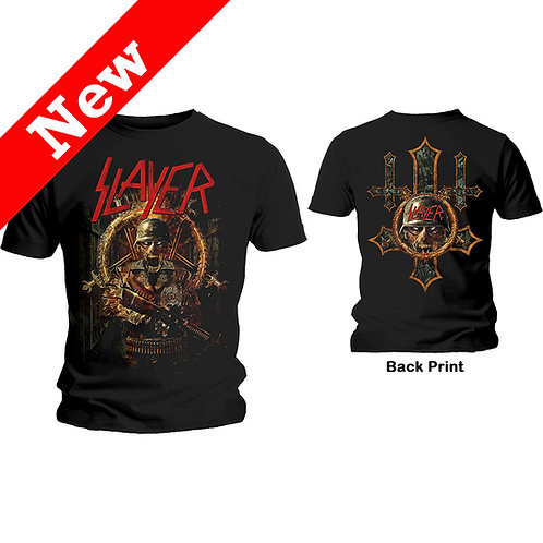 Slayer - Hard Cover Comic Book - imprimeu față/spate (tricou unisex)