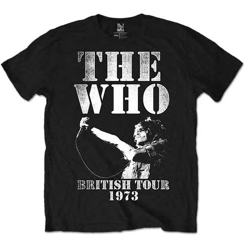 The Who - British Tour 1973 (tricou unisex)