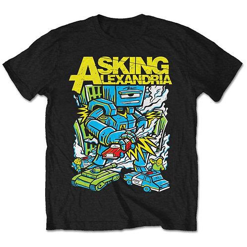 Asking Alexandria - Killer Robot (tricou unisex)