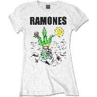 Ramones - Loco Live (tricou damă)