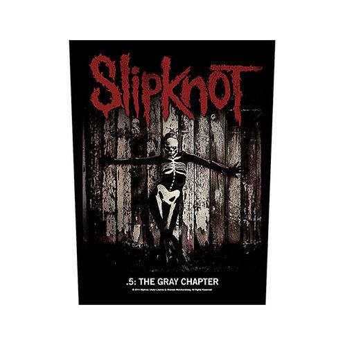 Slipknot - .5: The Gray Chapter (patch - back)