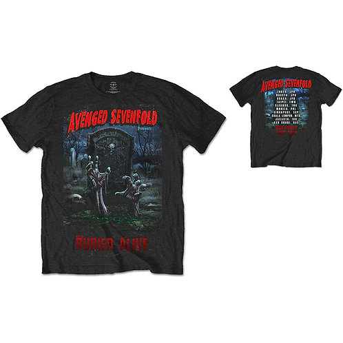 Avenged Sevenfold - Buried Alive Tour 2012 (tricou unisex)