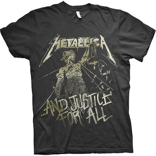 Metallica - Justice Vintage (tricou unisex)