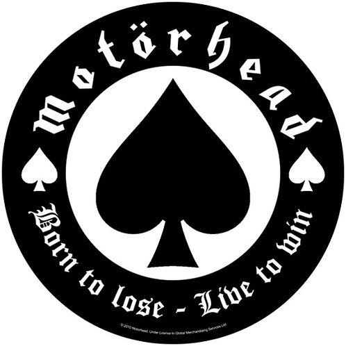 Motorhead - Born To Lose (patch - back)