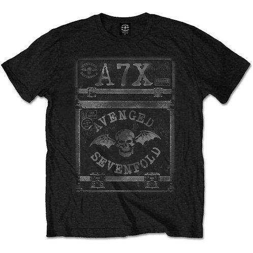 Avenged Sevenfold - Flightcase (tricou unisex)