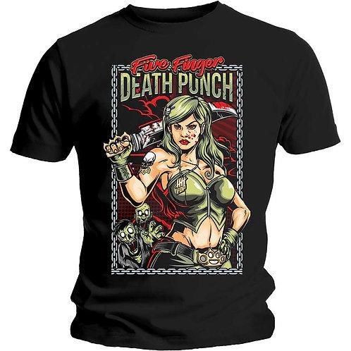 Five Finger Death Punch - Assassin (tricou unisex)