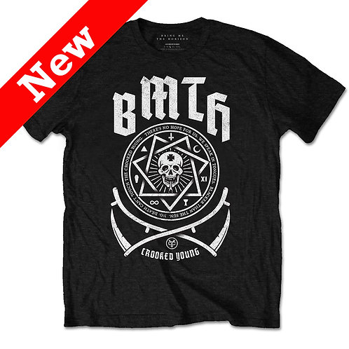 BMTH - Crooked (tricou unisex)