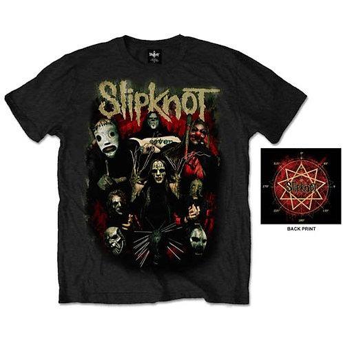 Slipknot - Come Play Dying - imprimat față/spate (tricou unisex)