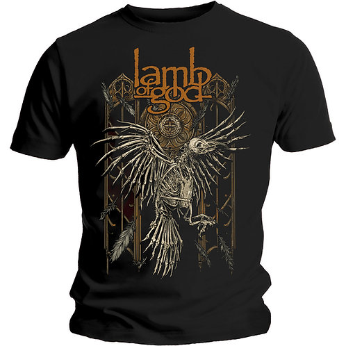 Lamb of God - Crow (tricou unisex)