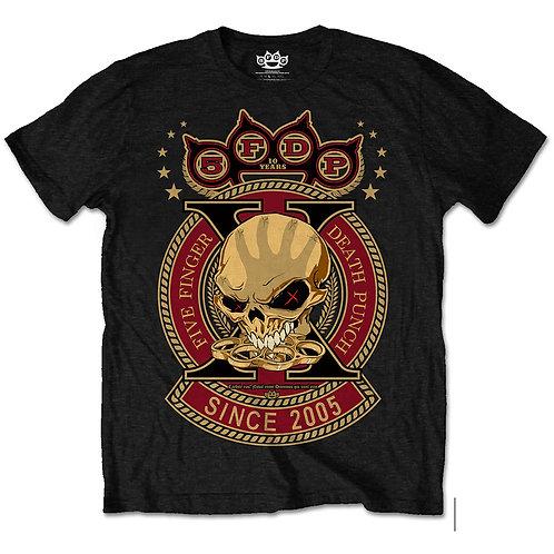 Five Finger Death Punch - Anniversary X (tricou unisex)