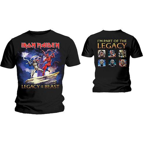Iron Maiden - Legacy Beast Fight (tricou unisex)