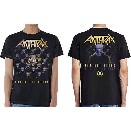 Anthrax - Among the Kings - față / spate (tricou unisex)