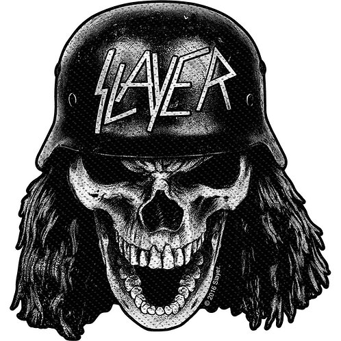Slayer - Wehrmacht Skull (patch)