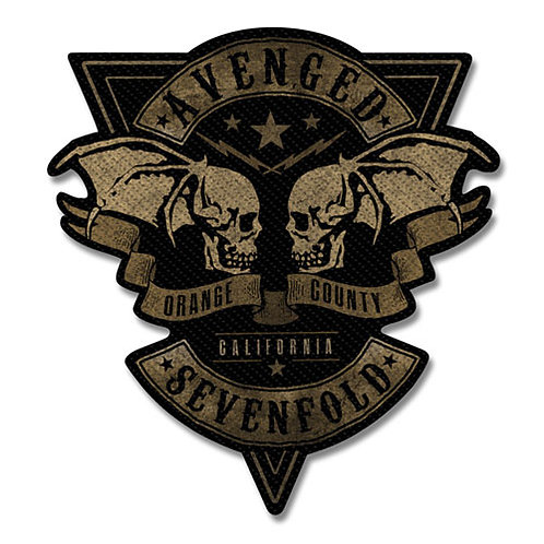 Avenged Sevenfold - Orange County Cut-Out (patch)