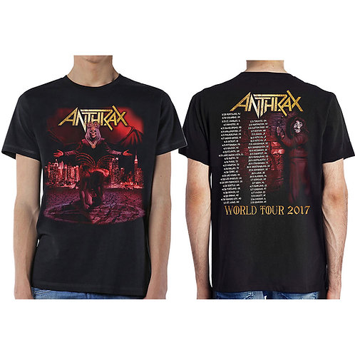 Anthrax- Bloody Eagle (tricou unisex)