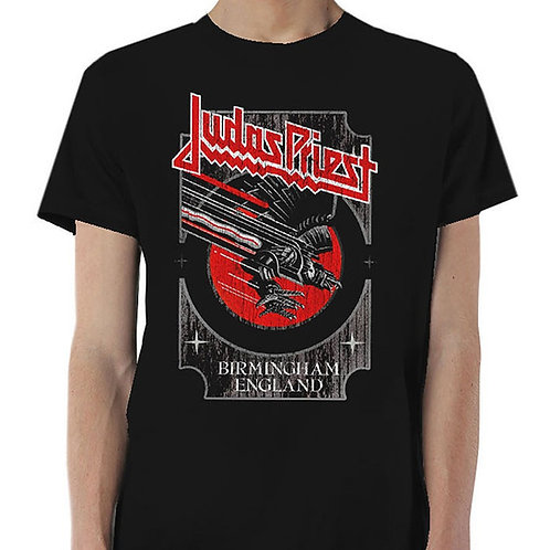 Judas Priest - Silver and Red Vengeance (tricou unisex)
