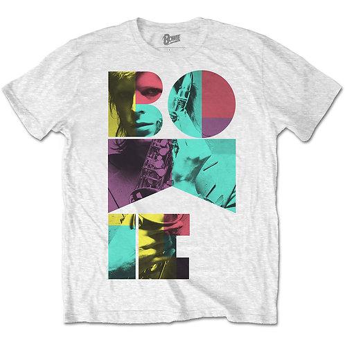 David Bowie - Colour Sax (tricou unisex)