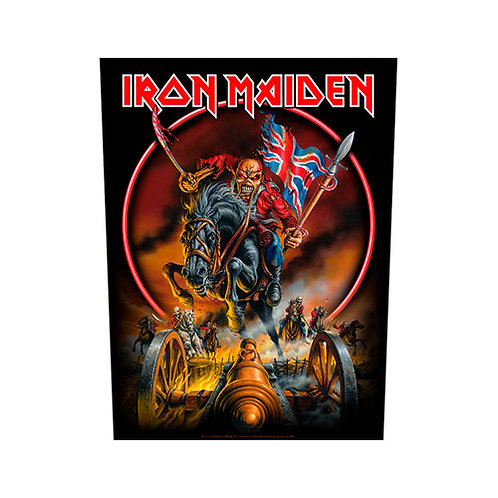 Iron Maiden - England (patch - back)