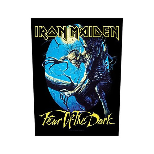 Iron Maiden - Fear Of The Dark (patch - back)
