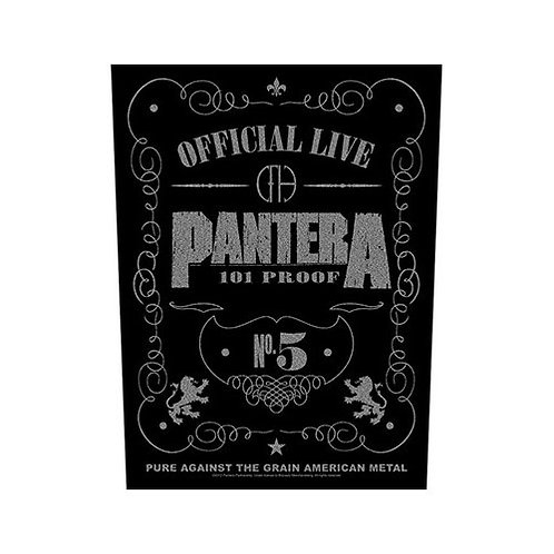 Pantera - 101% Proof (patch-back)