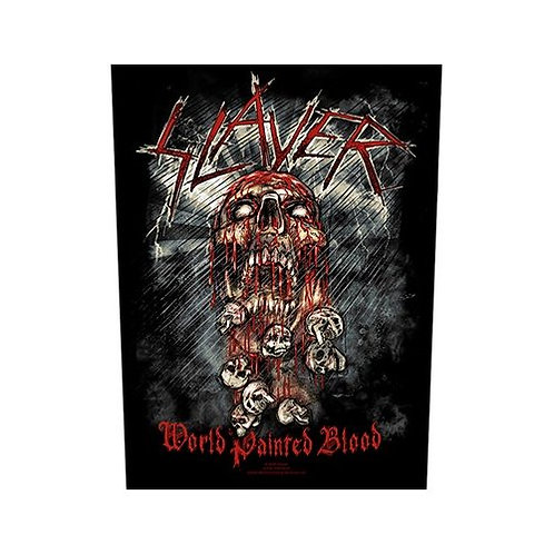 Slayer - World Painted Blood (patch - back)