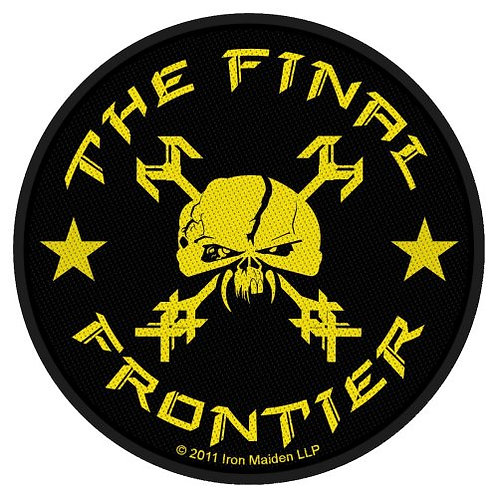 Iron Maiden - The Final Frontier Skull Circular (patch)